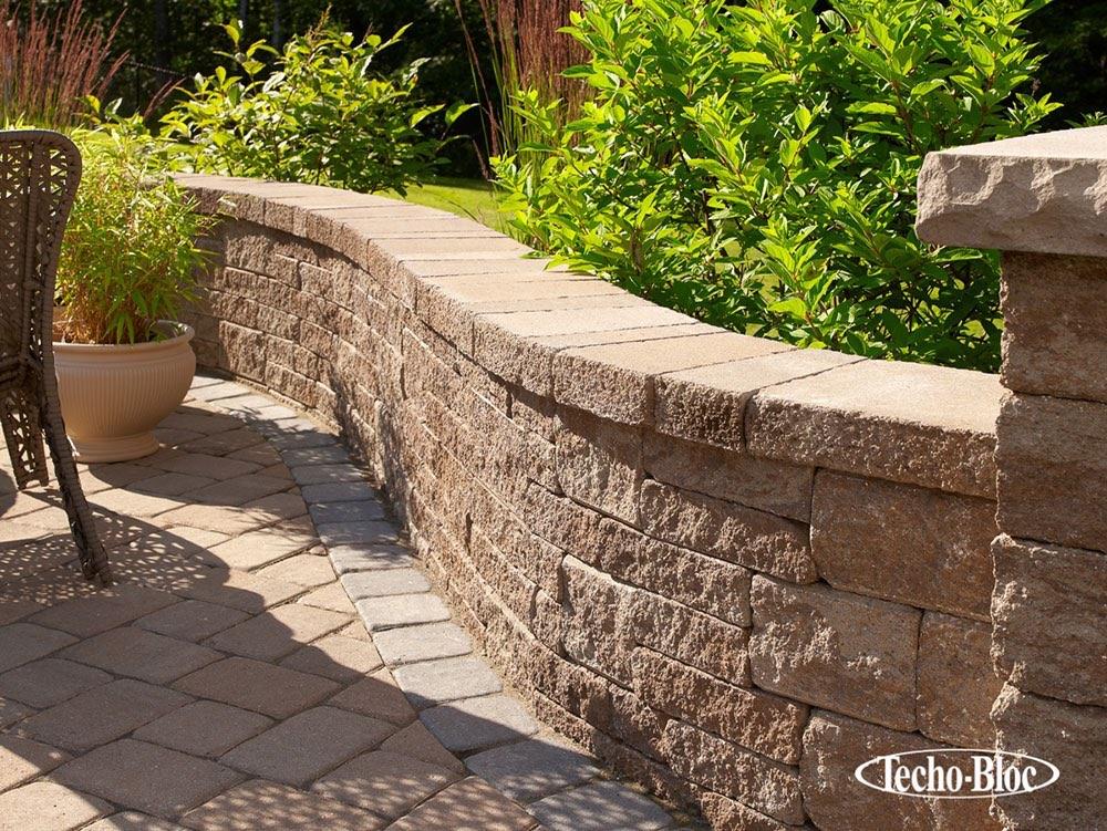 flagstone wall retaining wall stone morris brick stone morristown nj