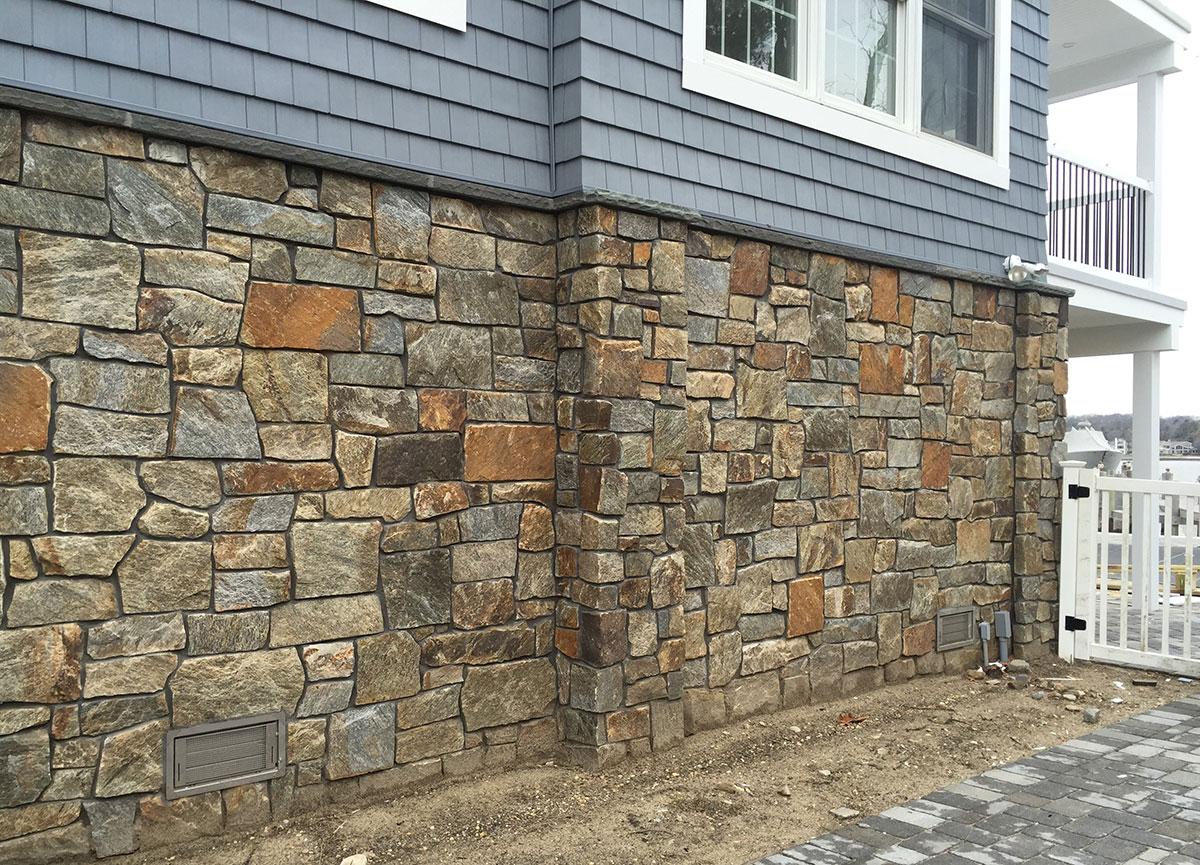 Stone home base