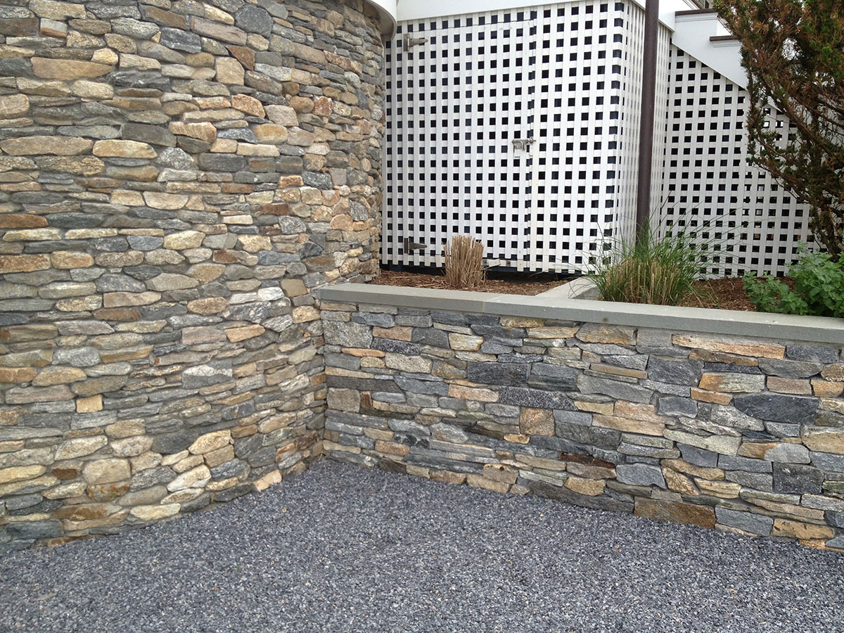 Stone outdoor details