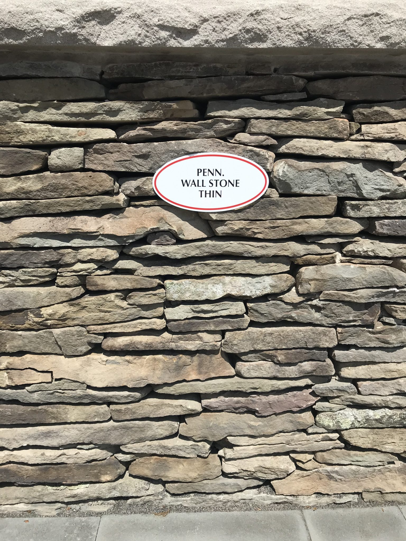 penn wall stone thin