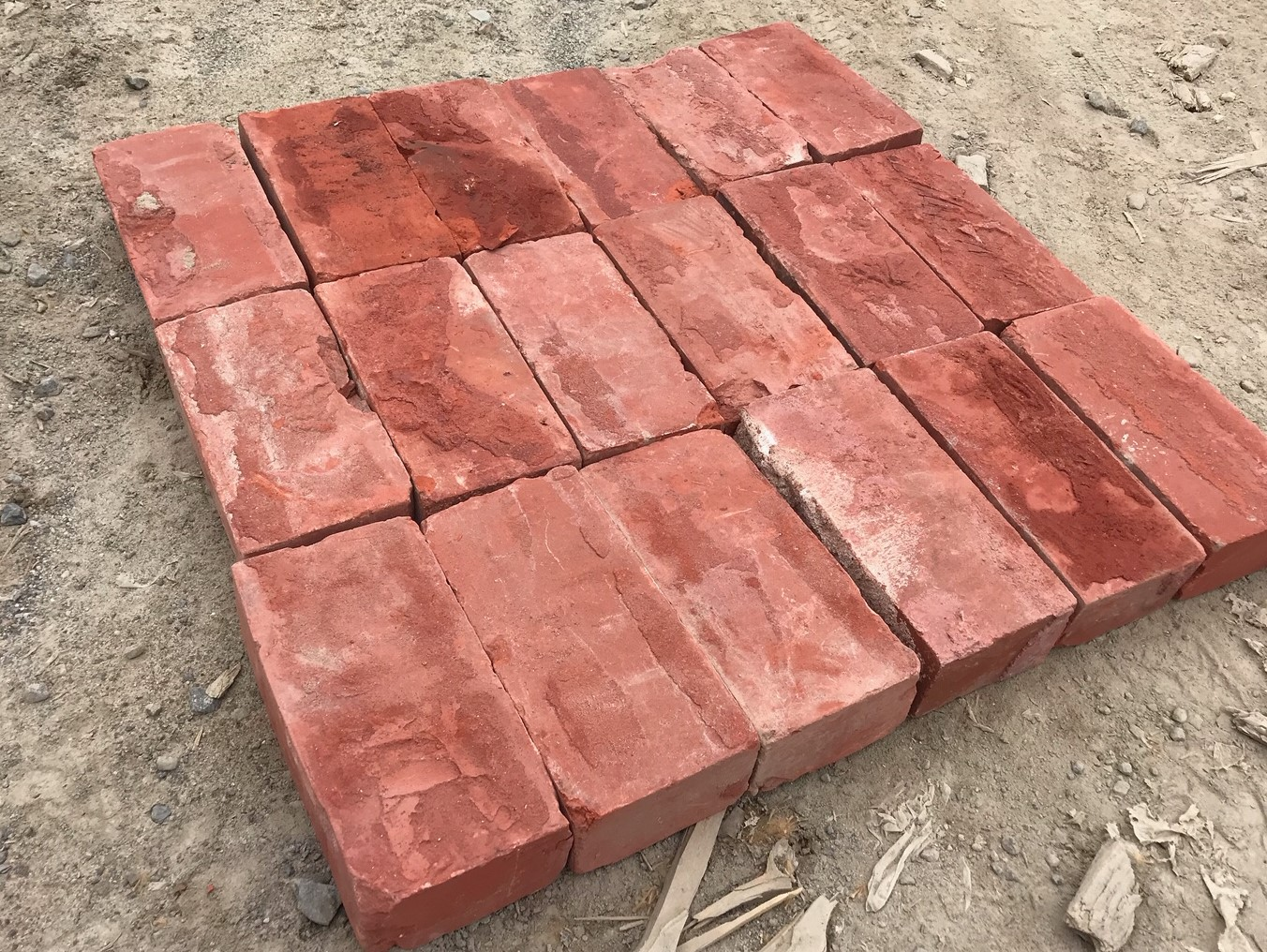 used brick smooth unfrogged